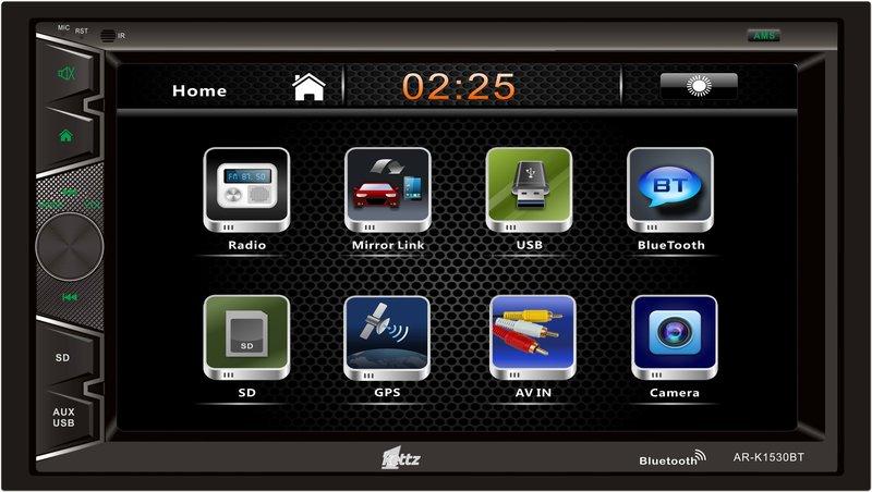 "Kettz GPS auto multimedija AR-K1530BT 6.2"" BT"