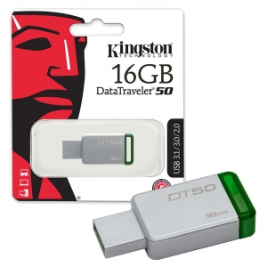 Kingston USB fleš 16GB DT50 metalni